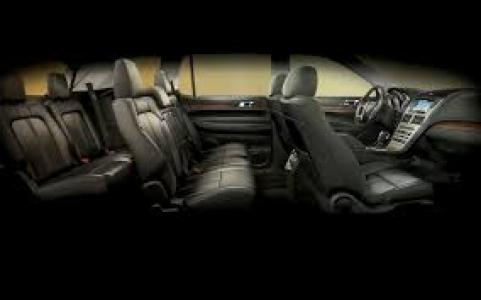 limousine 2014 Lincoln MKS interior image